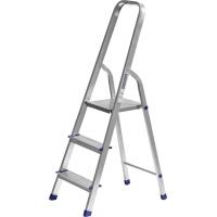 Лестница-стремянка СИБИН алюминиевая, 3 ступеней, 60 см, Арт 38801-3