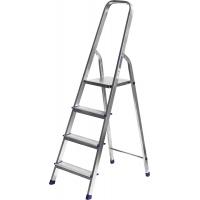 Лестница-стремянка СИБИН алюминиевая, 4 ступени, 82 см, Арт 38801-4