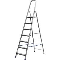 Лестница-стремянка СИБИН алюминиевая, 7 ступени, 145 см, Арт 38801-7