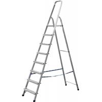 Лестница-стремянка СИБИН алюминиевая, 8 ступени, 166 см, Арт 38801-8