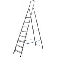 Лестница-стремянка СИБИН алюминиевая, 9 ступени, 187 см, Арт 38801-9