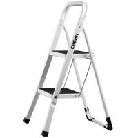 Лестница-стремянка СИБИН стальная c широкими ступенями 2 ступени