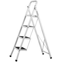 Лестница-стремянка СИБИН стальная c широкими ступенями 3 ступени