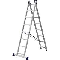 Лестница СИБИН универсальная, двухсекционная, 8 ступеней 38823-08