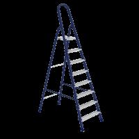 Стремянка 8 ступеней, стальная СИБРТЕХ Pоссия