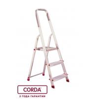 Свободностоящая стремянка 3 ступеньки CORDA