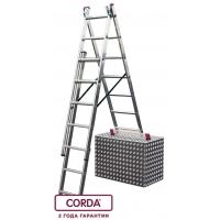 Универсальная лестница с доп. функцией 3х6 CORDA