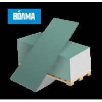 Гипсокартон влагостойки (ГКЛВ) Волма 9,5мм (потолок)