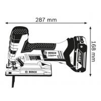 Bosch GST 18 V-LI S Professional (без аккумулятора и зарядного устройства) (№ 06015A5100)