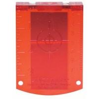 Bosch мишень (цвет красный) Professional (№ 1608M0005C)