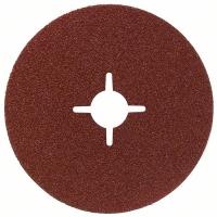Фибровый шлифкруг R444, Expert for Metal 125 мм, 22 мм, 80 (№ 2608605477)