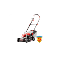 Газонокосилка ЗУБР роторная электрич, ш/с 340мм, центр регулировка h=20-70мм, 5позиций, пластик травосборник 2