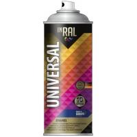 Краска Аэрозоль универс-03 белая мат RAL 9003 400 мл INRAL