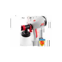 Краскопульт ЗУБР электрический, краскоперенос 280 мл/мин, вязкость краски 40 DIN, HVLP, 0, 8л, 300Вт