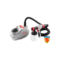 Краскопульт ЗУБР электрический, краскоперенос 320 мл/мин, вязкость краски 50 DIN, HVLP, 0, 8л, 600Вт