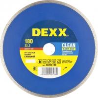 Круг отрезной алмазный DEXX влажная резка, сплошной, для УШМ, 115х5х22, 2мм