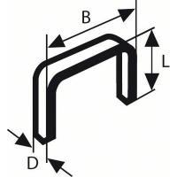 Скоба, тип 53 10,0 mm (№ 2609255821)
