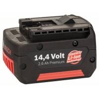 Вставной аккмулятор 14,4В Standard Duty (SD), 2,6 Ah, Li-Ion, GBA M-C (№ 2607336078)